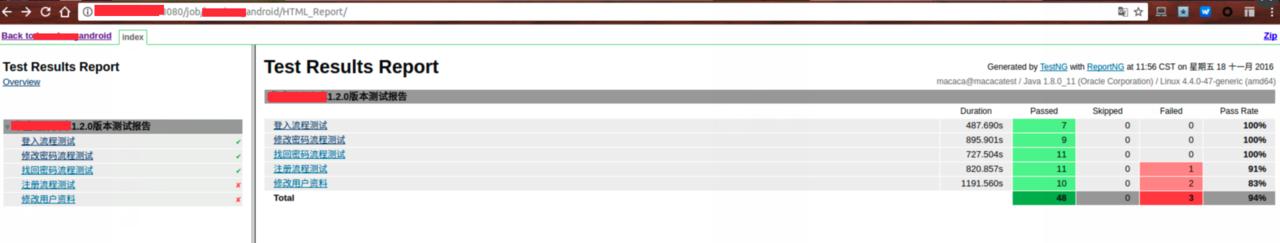 ubuntu16 04 macaca java 版初步尝试surefire report 转html 记· TesterHome