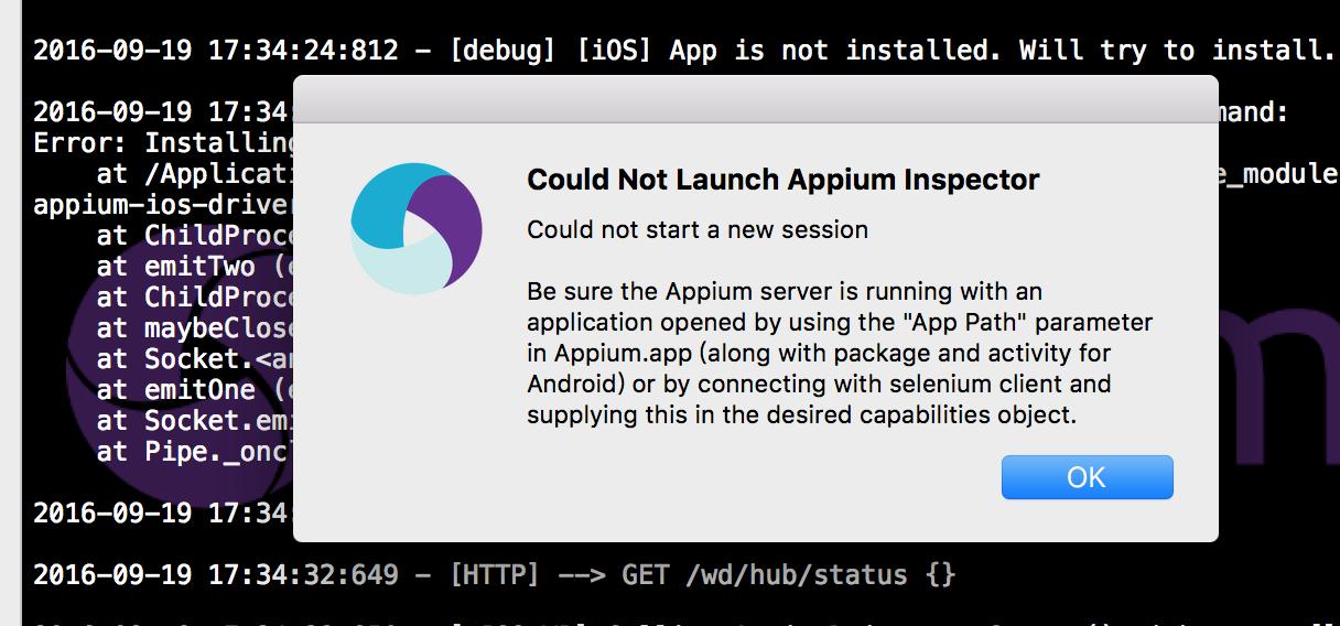 iOS 真机运行Appium 长期答疑! · TesterHome