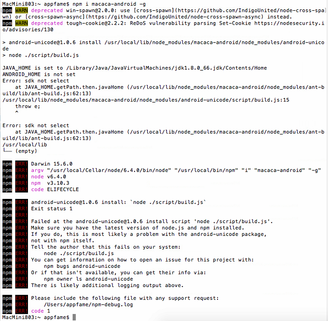 Macaca iOS 真机测试· TesterHome